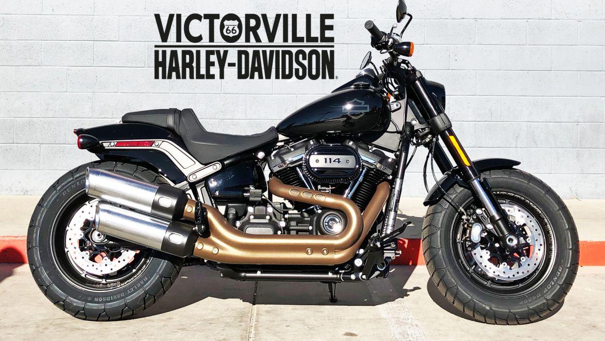 2018 fat bob 114 victorville harley davidson. Black Bedroom Furniture Sets. Home Design Ideas