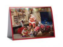 Biker Santa Boxed Holiday Cards