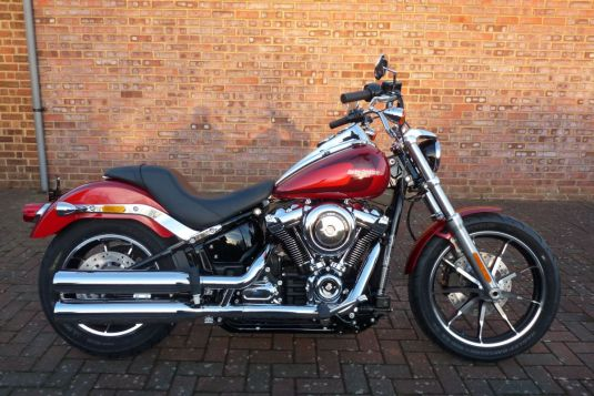 NEW 2018 FXLR Softail Low Rider Wicked Red