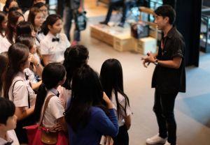 นักศึกษา ม.มหิดลฯ เข้าดูงานที่ AAS HaHarley-Davidson® of Bangkok