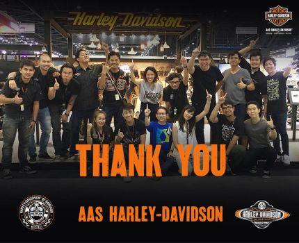 AAS H-D ขอขอบคุณทุกความไว้วางใจให้โอกาส ได้ดูแลและบริการในงาน Motor Expo 2017