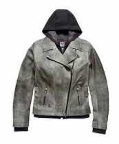 PIERCE 3-IN-1 LEATHER JACKET