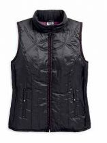 LIGHTWEIGHT HOODED PUFFER VEST
