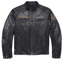 Мужская кожаная куртка 115 ANV