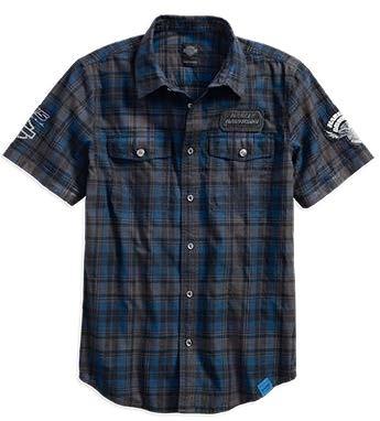 Мужская рубашка с коротким рукавом 115 ANV