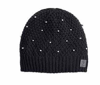 EMBELLISHED KNIT HAT