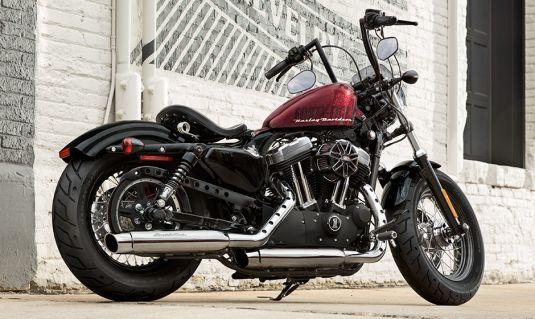 Harley-Davidson Forty-Eight málo jazdený motocykel