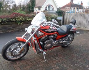 2006 RARE VRSCSE2 Screamin Eagle Vrod (240mm Rear) Tyre Full Stage One