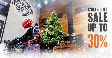 โปรโมชั่นต้อนรับเทศกาลคริสต์มาสชื้อสินค้าที่แผนก GM รับเลยส่วนลดสูงสุด 30%