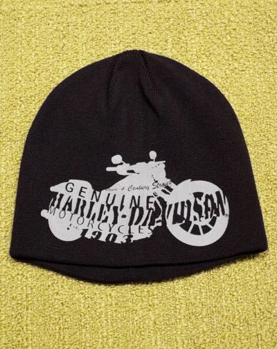 HAT-KNIT,MOTORCYCLE,S1