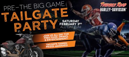 Tail Gate Party for the Big Game