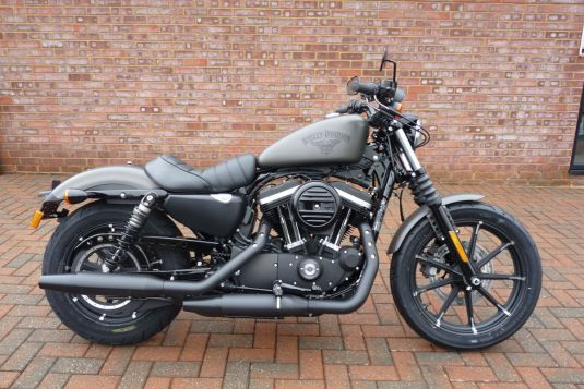 2018 XL883N Sportster IRON 883 Industrial Grey Denim NEW