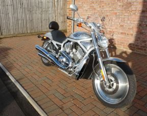 2003 VRSCA V-Rod 100th Anniversary Model Aluminium, Just 1100 miles Investment Opportunity