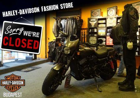 Harley-Davidson Fashion Store - Leltár miatt zárva!