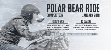 Polar Bear Ride Competition