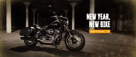 January at Richardson's Harley-Davidson