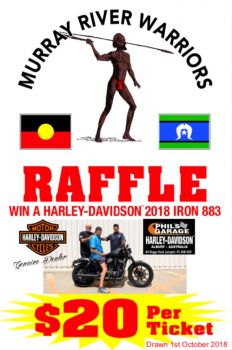 MURRAY RIVER WARRIORS 2018 IRON 883 RAFFLE