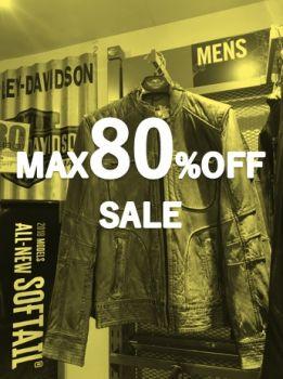 2018新春メガセール、大好評開催中です!max80%OFF!!