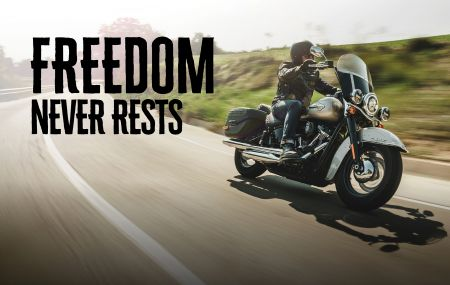 TRADE IN YOUR CURRENT H-D® MOTORCYCLE TO RECEIVE UP TO $2500 OF PARTS AND ACCESSORIES!