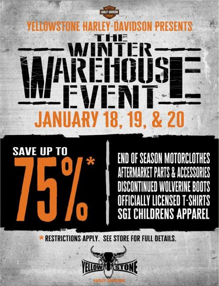 WINTER WAREHOUSE EVENT