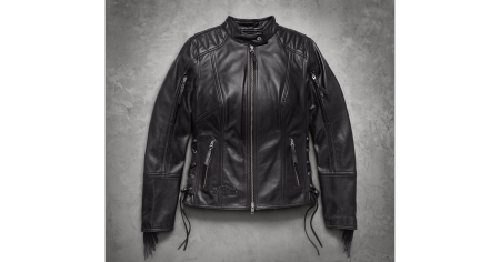 NEW IN - Boone Fringe Leather Jacket