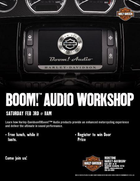 Boom Audio Workshop