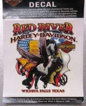 Red River Harley-Davidson Horse & Texas Decal