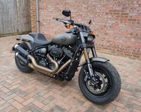 2018 FXFBS Softail Fat Bob 114, Full Stage One Ex demonstrator