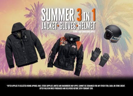 Summer Riding Pack