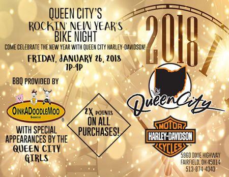 2018 New Year's Bike Night