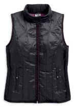VEST-OUT,LIGHTWEIGHT,HOODED,PUFF