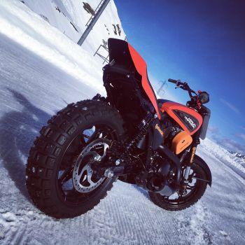 Harley-Davidson® выходит на лед на SnowQuake!