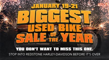 Biggest Used Bike Sale of the Year!