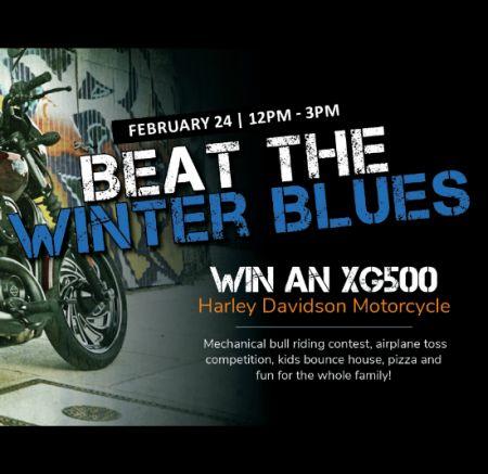 Beat the Winter Blues at Biker Bob's!