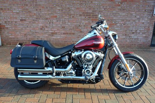 NEW 2018 FXLR Softail Low Rider Wicked Red with Saddlebags