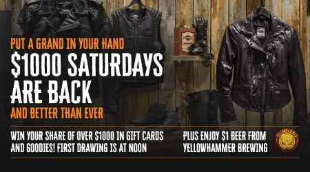 $1000 Saturdays are BACK!