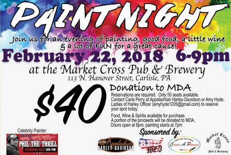 Paint Night to benefit MDA