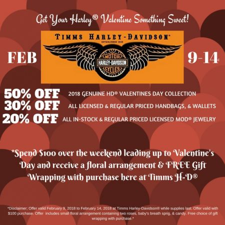 Valentine's Day Weekend Specials