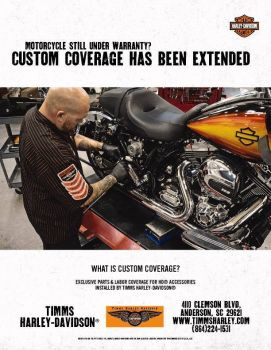 Custom Coverage has been Extended