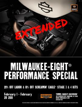 Milwaukee Eight Performance Special