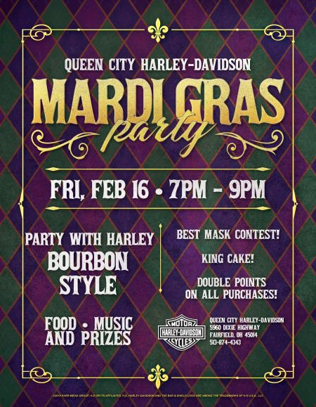 Mardi Gras Bike Night!
