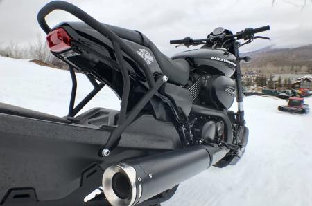 UNIQUE STREET ROD® BIKES BUILT FOR THE SNOW AT X GAMES ASPEN