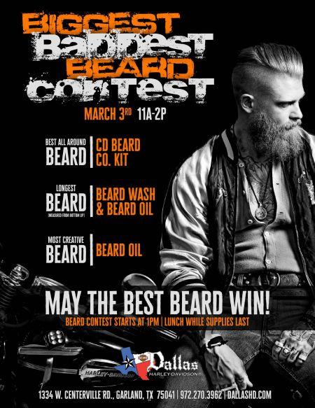 Biggest Baddest Beard Contest