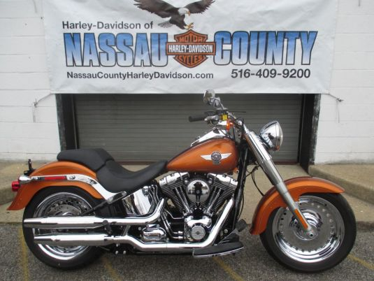 2014 HARLEY-DAVIDSON FLSTF SOFTAIL FAT BOY