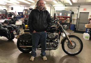 Larry and his 2004 XLH 1200C