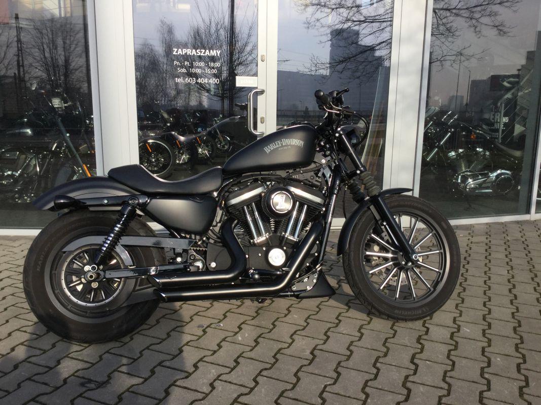 Harley-Davidson XL883N Iron konwersja 1200 cm3