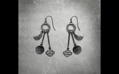 Women's 115th Anniversary Charm Drop Earrings