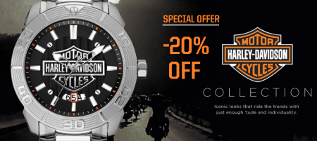 AKCIJA -20% na Harley-Davidson ručne satove
