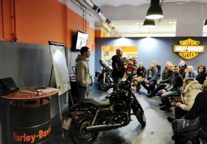 Safedrive семинар по безопасному вождению мотоциклов Harley-Davidson