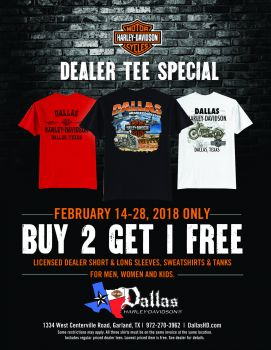 Dealer Tee Feb